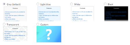 выбор стилей CSS