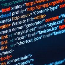 Код сайта это запись контента на языке программирования